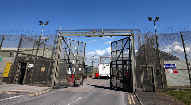 Maghaberry Prison, where a prison officer was attacked with a blade