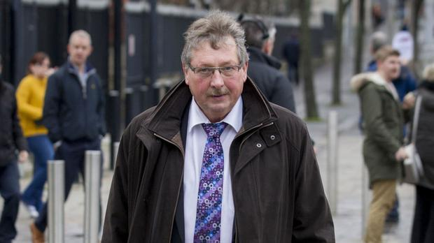 Sammy Wilson criticised Martina Anderson over comments she made in the European Parliament on Monday
