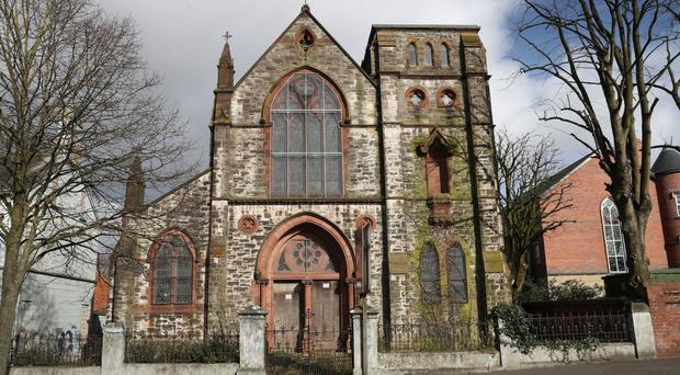 The former Holy Rosary church