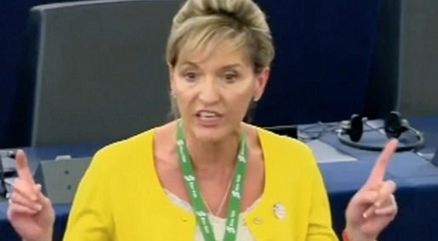 Martina Anderson during her speech