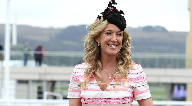 Chanelle McCoy at the first day of Cheltenham.
