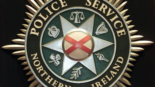 The PSNI is believed to have received a report that a package containing white powder had been sent through the mail