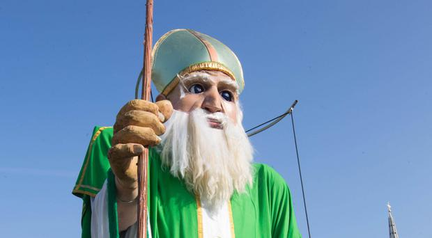 St Patrick's Day celebrations are under way