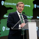 Taoiseach Enda Kenny in New York yesterday