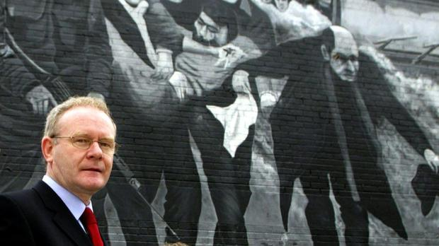 Martin McGuinness was second-in-command of the IRA in Derry at the time of the Bloody Sunday shootings in 1972