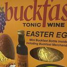The Buckfast Easter egg available at D-Bees off-licence in Lurgan, Co Armagh (Derek Brennan/Facebook/PA Wire)