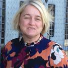 Donna McCloskey, a peace wall development worker at the Bogside and Brandywell Initiative, spoke about the death of Martin McGuinness