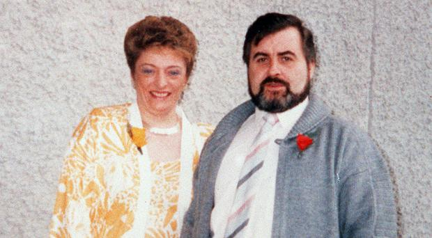 Kathleen Gillespie with her husband Patsy