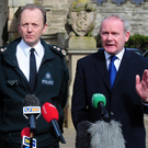The murder of Constable Stephen Carroll by dissident republicans in 2009 saw Martin McGuinness join the then Chief Constable Hugh Orde to condemn the attacks