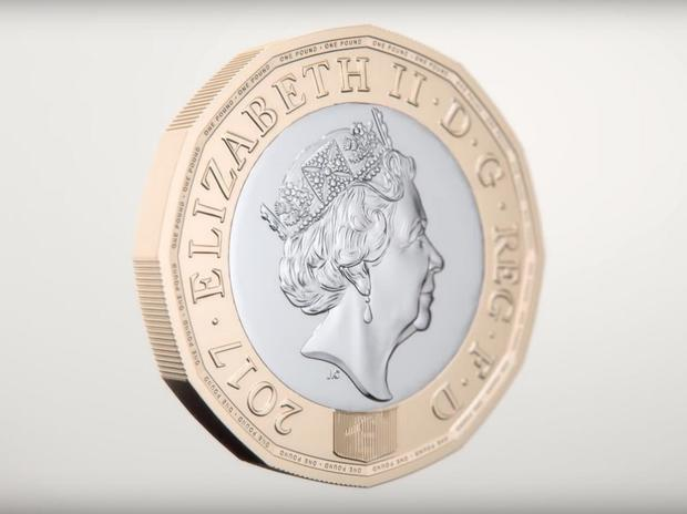 New 12-sided British pound coin enters circulation