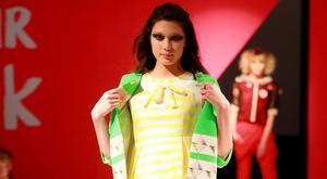 Models take to the catwalk during Belfast Fashion Week's designer boutiques