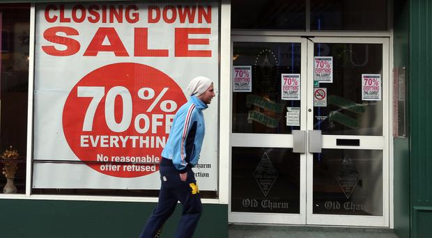 Slower jobs growth and a squeeze on real household spending power is forecast by David Armstrong, PwC partner in Northern Ireland