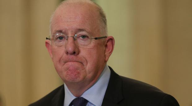 Charlie Flanagan said he was optimistic an agreement to restore powersharing at Stormont could be reached before the deadline