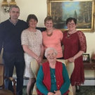 Online posts of DUP leader Arlene Foster with mum Georgina and family