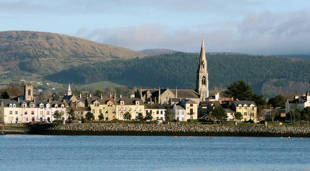 Warrenpoint in County Down lies on the northern shore of Carlingford Lough