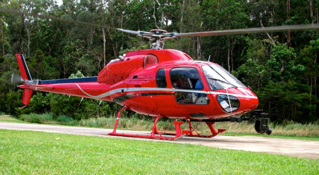 A helicopter similar to the that went missing