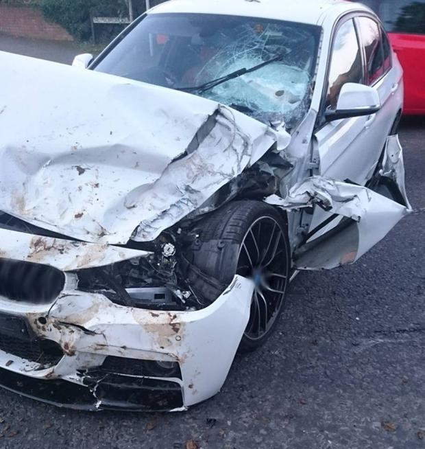 Car Wreck  Year Old