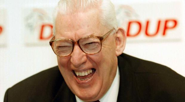Ian Paisley went on to become first minister of Northern Ireland and a peer