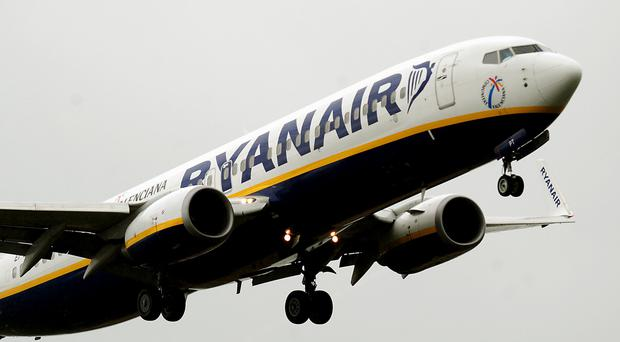 Ryanair raised the possibility of some flights being suspended