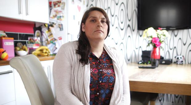 Roxanne Choudry from Bangor, who lost her son Nathan to suicide
