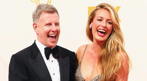 Cat Deeley and husband Patrick Kielty at a premiere