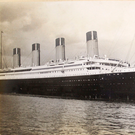 The photo of the Titanic, believed to have been taken the day before she left on her ill-fated voyage