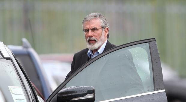 Sinn Fein president Gerry Adams said the DUP must reach a decision on a return to powersharing in Stormont