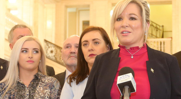 Michelle O'Neill now leads Sinn Fein in Northern Ireland