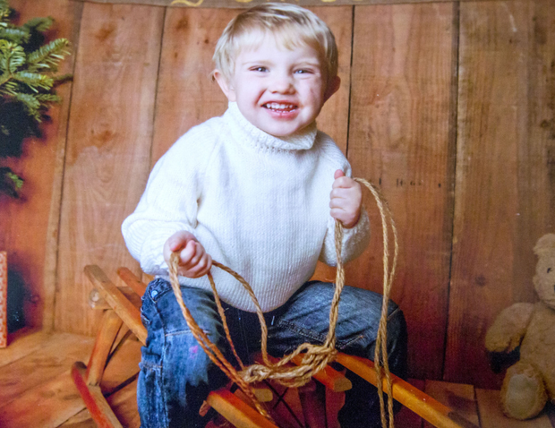 Little Thomas Magee who was tragically killed in a farming accident