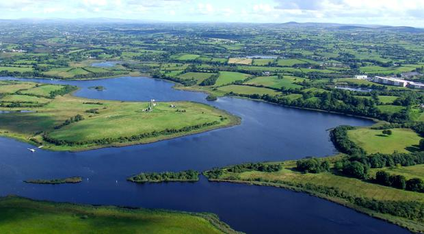 The incident happened at Devenish Island on Lough Erne