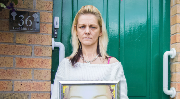 Sarah Ponisi, whose daughter Chloe Ponisi-Hutchings, died tragically last weekend