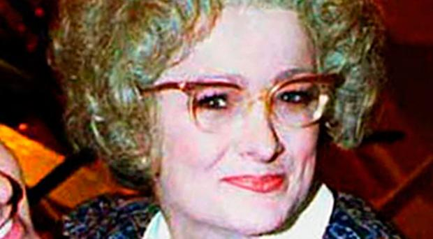 Caroline Aherne as Mrs Merton