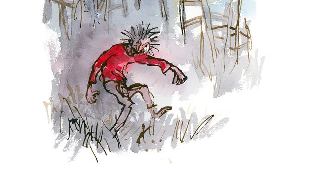 An illustration by Sir Quentin Blake. Photo: PA