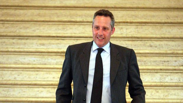 Ian Paisley said another investigation into Colum Mark's death was based on 'dodgy and fragile, fake' evidence
