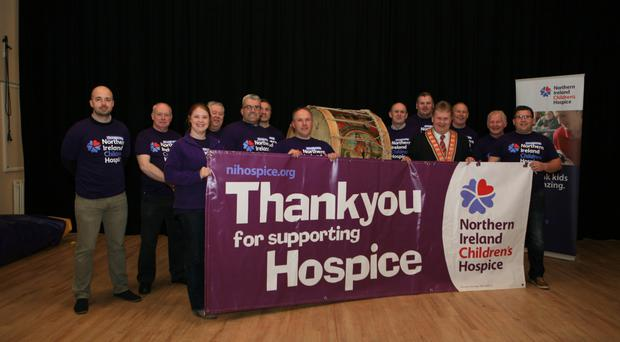 Members of the lodge are raising money for the NI Children's Hospice