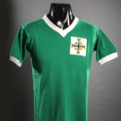 The jersey George Best wore against Switzerland in 1964 is set to raise more than £5,000
