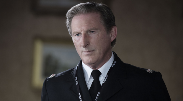 Dream role: Adrian Dunbar as Superintendent Ted Hastings