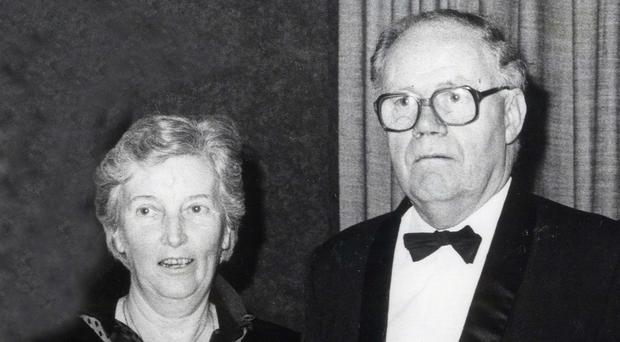 Turlough O'Donnell with his wife Eileen