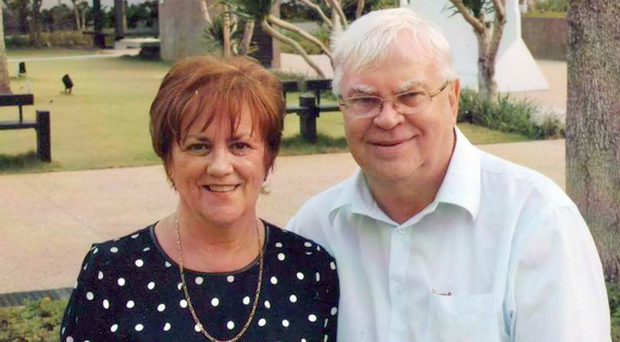 Margaret McLaughlin and husband Pat