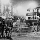 Troops on Belfast's Shankhill Road during the Troubles
