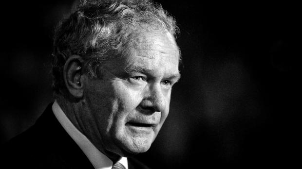 Northern Ireland's former deputy First Minister Martin McGuinness