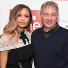 Jed Mercurio with actress Thandie Newton