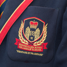 The crest of the Royal Grammar School, where the incidents are alleged to have happened