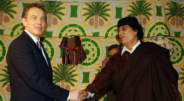 MPs said Tony Blair had missed chances to secure compensation during a period when the former Gaddafi regime was seeking a rapprochement with the west