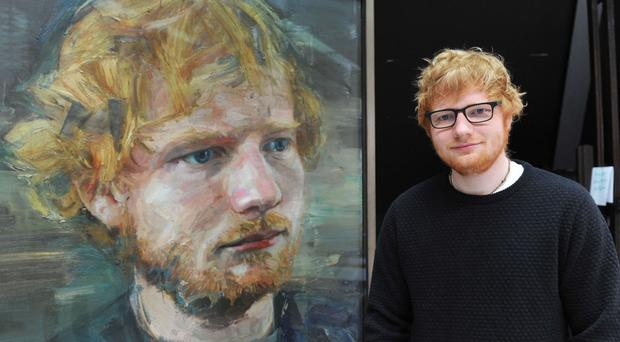 Ed Sheeran portrait to go on display at the National Portrait Gallery