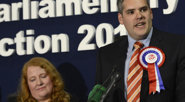 DUP's Gavin Robinson took the seat from Alliance's Naomi Long in 2015