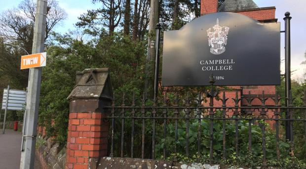 Campbell College in east Belfast