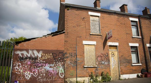 17 Gortfin Street, Belfast, which is up for auction with a starting price of £20,000