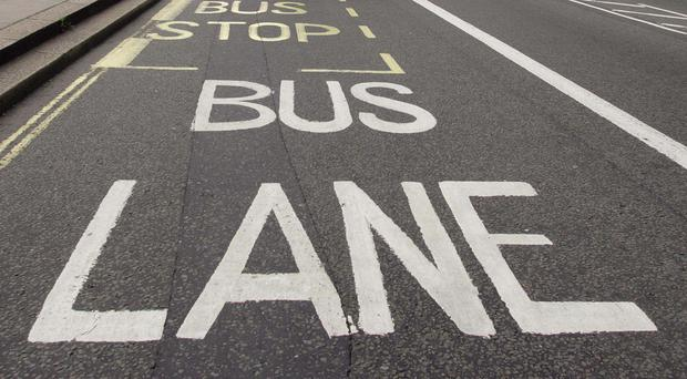 From Monday private hire taxis will no longer be allowed to use the bus lanes.