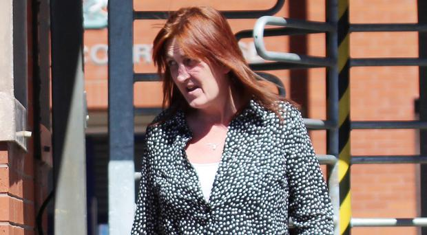 Ballymoney woman Rosaleen McAuley who was jailed for kicking a pregnant nurse at Coleraine's Causeway Hospital